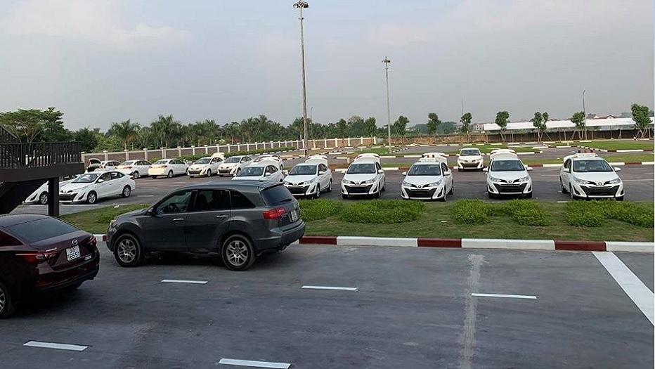 Sân tập lái xe Ngọc Hà